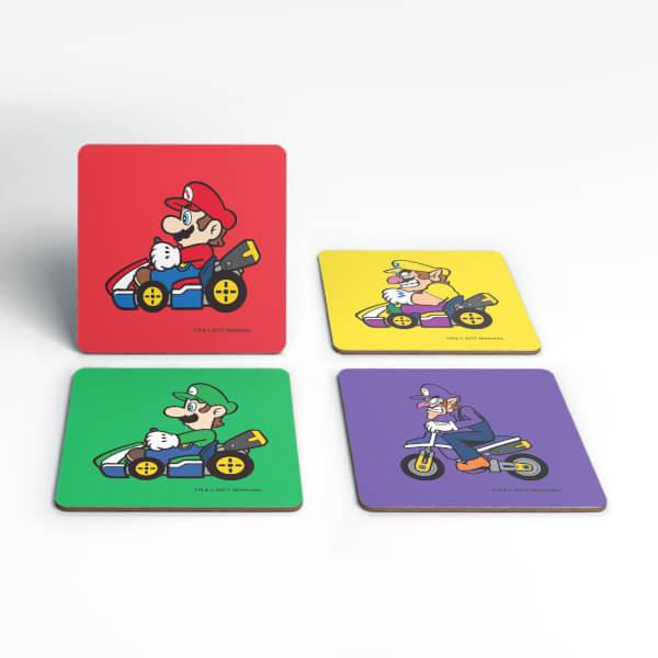 Nintendo Mario Wario Coaster Set