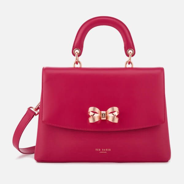 3a02fe5274e Ted Baker Women's Lauree Looped Bow Lady Bag - Deep Pink: Image 1