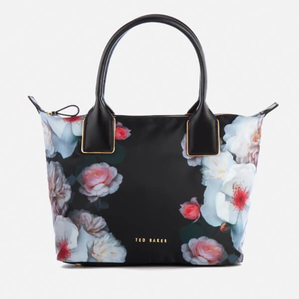 6122795e536 Ted Baker Women's Chichi Chelsea Small Nylon Tote Bag - Black: Image 1