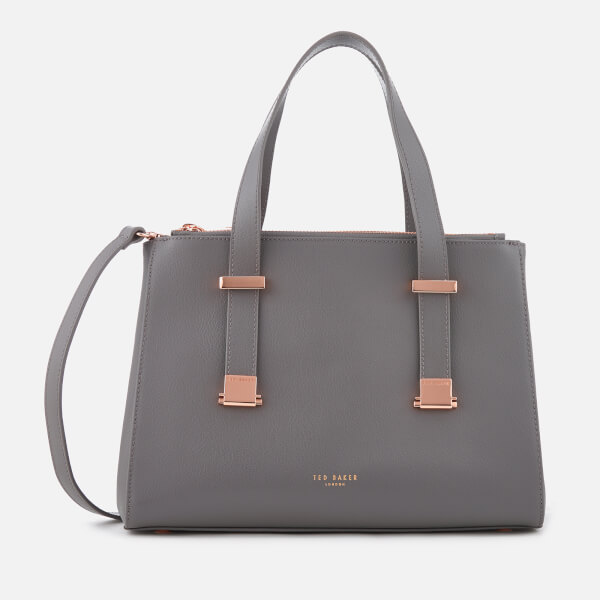 797bcb7cf777 Ted Baker Women s Ameliee Adjustable Handle Small Grain Tote Bag - Mid  Grey  Image 1
