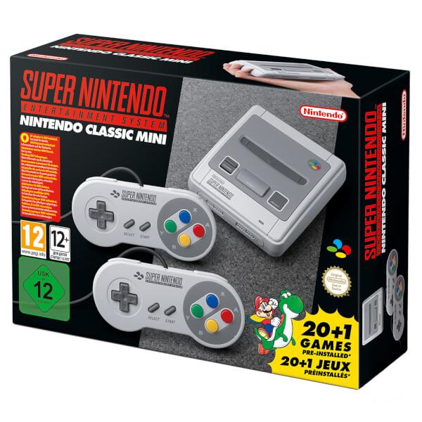 nintendo classic mini super nintendo entertainment system nintendo official uk store. Black Bedroom Furniture Sets. Home Design Ideas