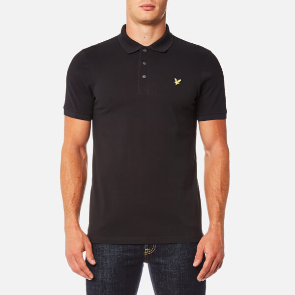 Lyle & Scott Men's Polo Shirt - True Black