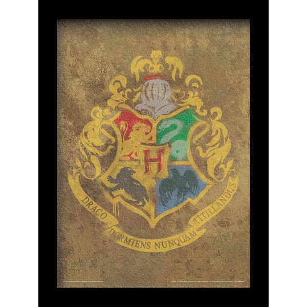 Harry Potter Hogwarts Crest 30 x 40cm Gel Coat Prints
