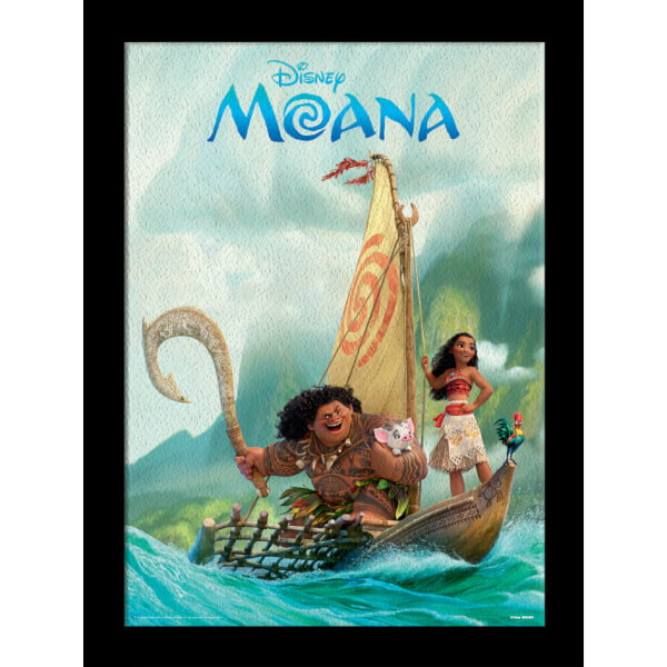 Disney Moana Boat 30 x 40cm Gel Coat Prints