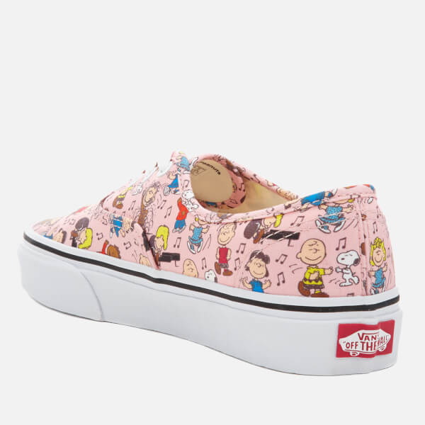 5a249965a7b Vans X Peanuts Women s Authentic Trainers - Dance Party Pink  Image 4
