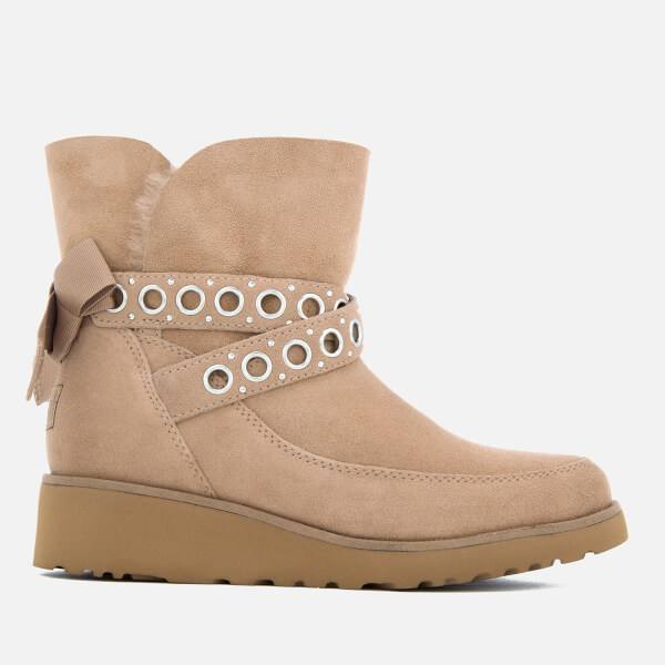 Clearance Cheap Real UGG Women's Alisia Short Suede Sheepskin Boots - Fawn - UK 3.5 - Tan Excellent Cheap Price 2018 New Cheap Price 2018 Sale Cheap MUuyJnRZw