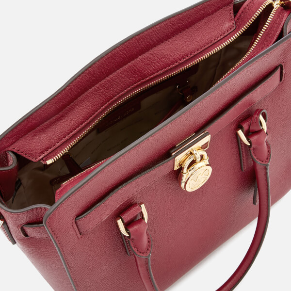 e50cec1f06d2 MICHAEL MICHAEL KORS Women's Hamilton Large East West Satchel - Mulberry:  Image 5