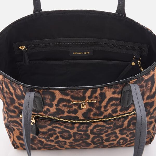 991edf0e8b7e MICHAEL MICHAEL KORS Women s Kelsey Large Top Zip Tote Bag - Butterscotch   Image 5