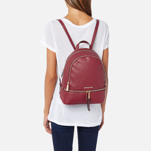 6257564b7d81 Shoptagr | Michael Michael Kors Women's Rhea Zip Medium Backpack Mulberry  by My Bag