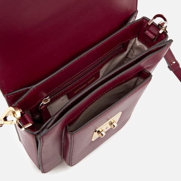 e7df2e34c4 MICHAEL MICHAEL KORS Women s Sloan Editor Large North South Messenger Bag -  Mulberry  Image 5