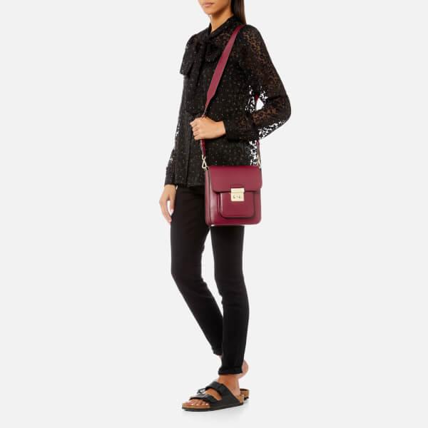 d1533e2b6b MICHAEL MICHAEL KORS Women s Sloan Editor Large North South Messenger Bag -  Mulberry  Image 3
