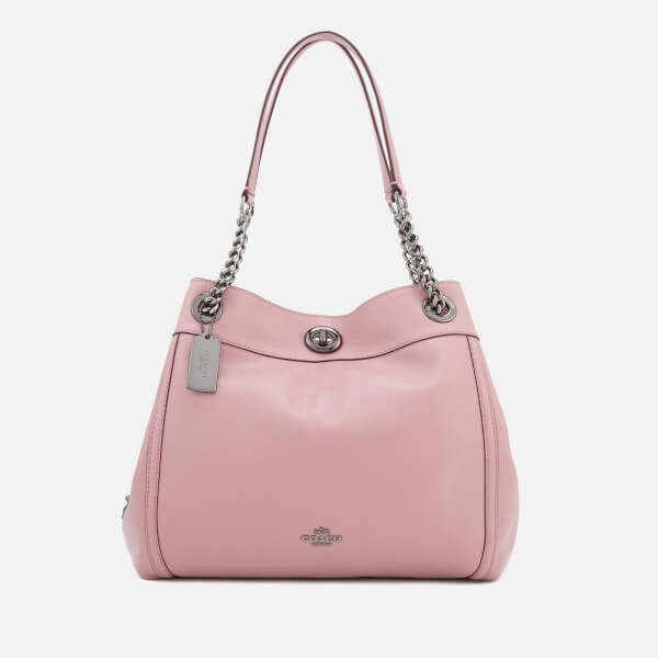 Coach Women's Turnlock Edie Shoulder Bag - Dusty Rose