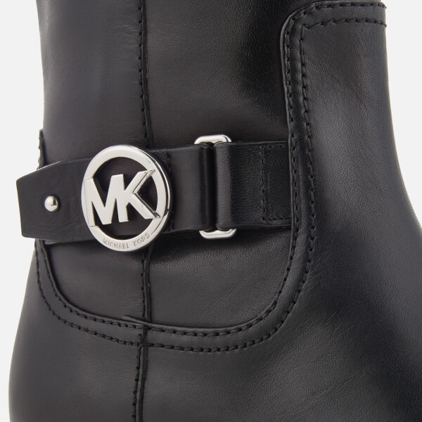 5428a0f1660b MICHAEL MICHAEL KORS Women s Harland Leather Knee High Boots - Black  Image  7