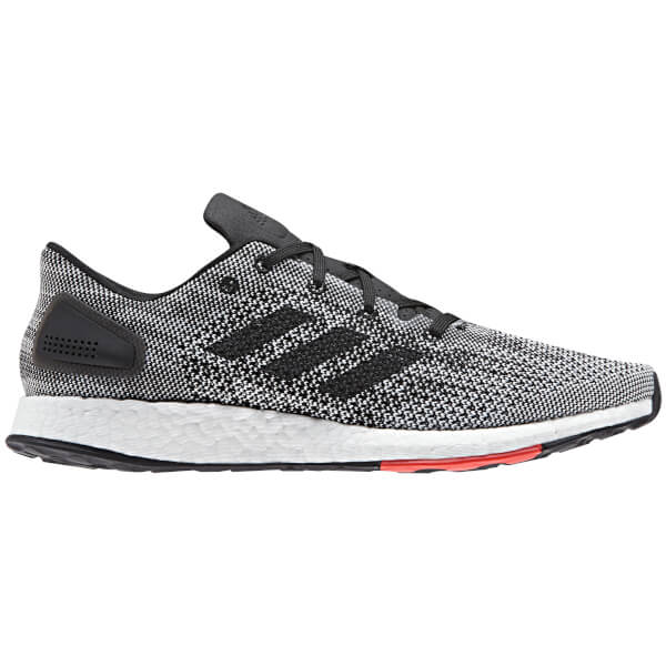 717663a565be adidas Men s Pure Boost DPR Running Shoes - Black Grey Mens ...