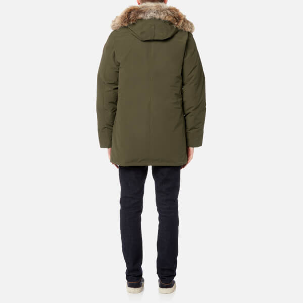 canada goose expedition parka military green