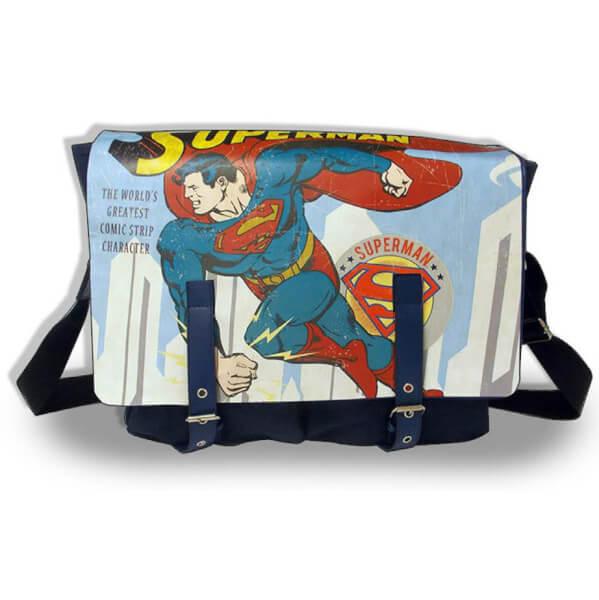 Vintage Superman Satchel Bag