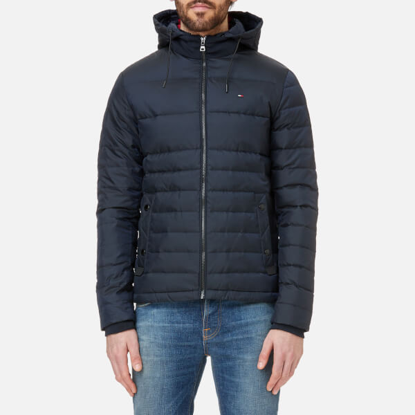 Tommy Hilfiger Men S Chad Down Bomber Jacket Sky Captain Clothing