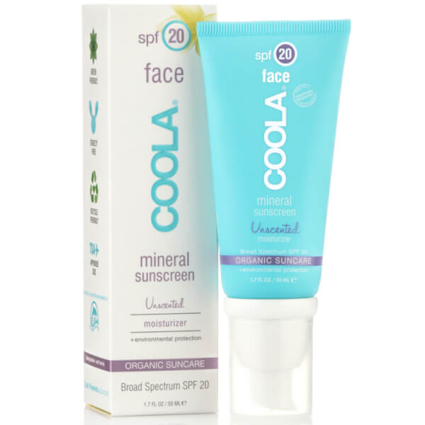 Coola Mineral Face SPF 20 Unscented Cream