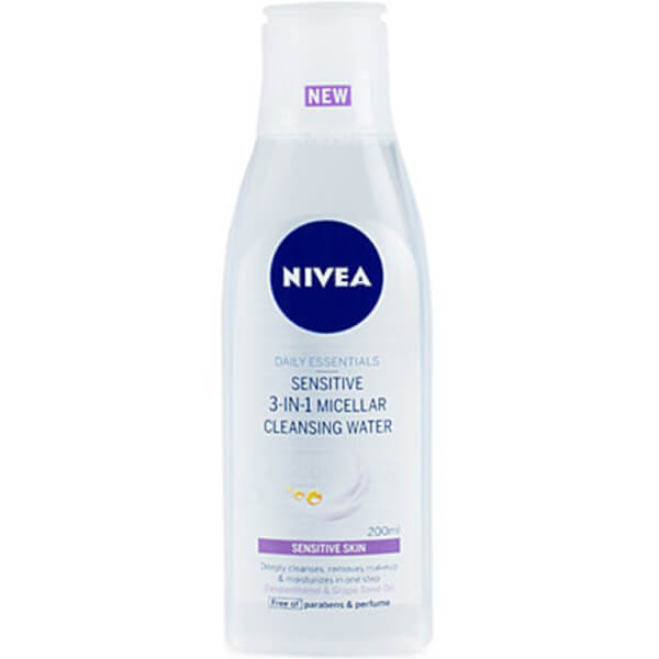 Nivea NIVEA Daily Essentials Sensitive 3-in-1 Micellar Cleansing Water