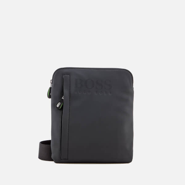 BOSS Men's Hyper Rubberised Envelope Bag - Black