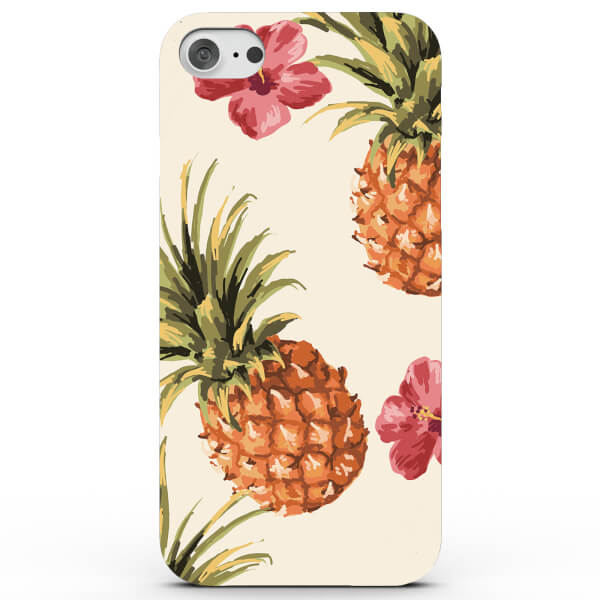 Coque iPhone & Android Ananas Tropical