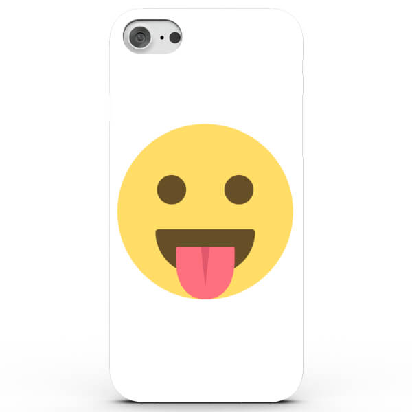 Emoji Tongue Out Phone Case for iPhone & Android - 4 Colours