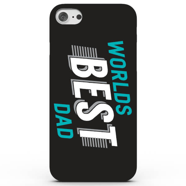 Coque iPhone & Android Worlds Best Dad - 4 Couleurs