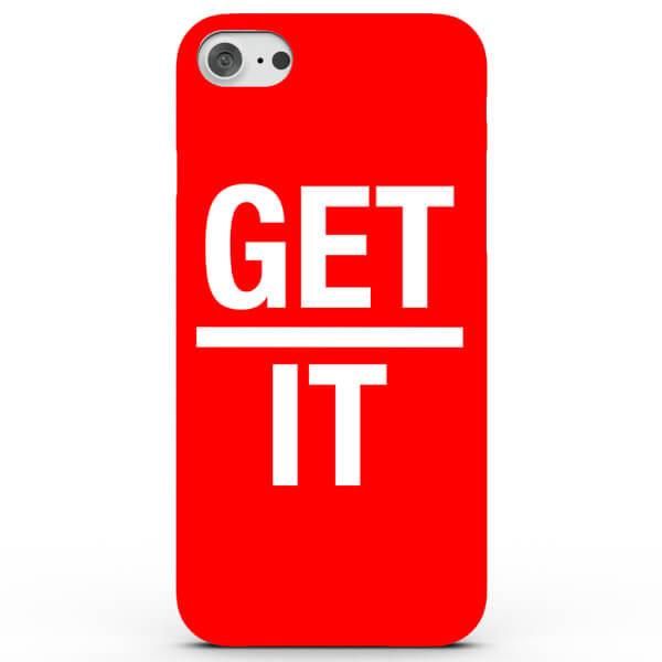 Coque iPhone & Android Get Over it - 4 Couleurs