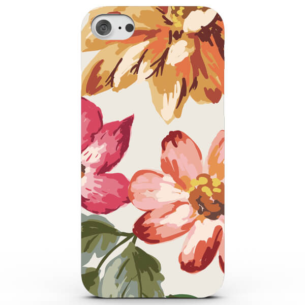 Coque iPhone & Android Fleurs Tropicales