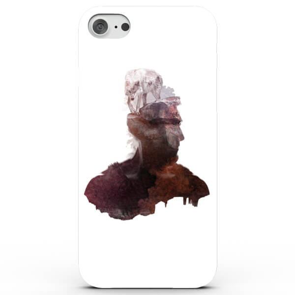 Coque iPhone & Android Loup Intérieur - 4 Couleurs