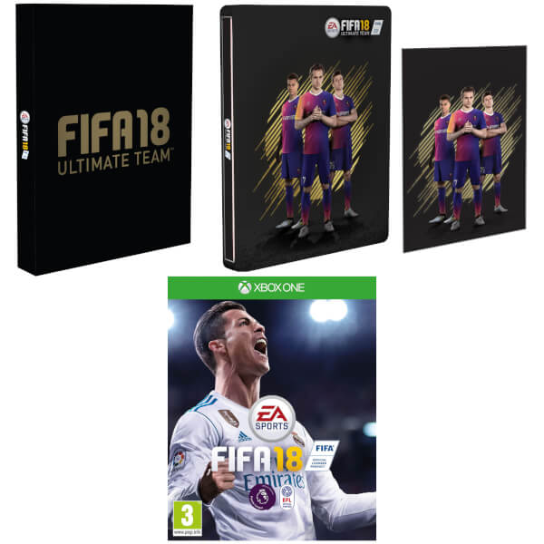 FIFA 18 Steelbook Édition Exclusive