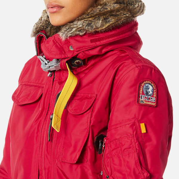 Parajumpers Women's Gobi Masterpiece Coat - Dark Red: Image 5