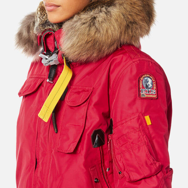Parajumpers Women's Gobi Masterpiece Coat - Dark Red: Image 4