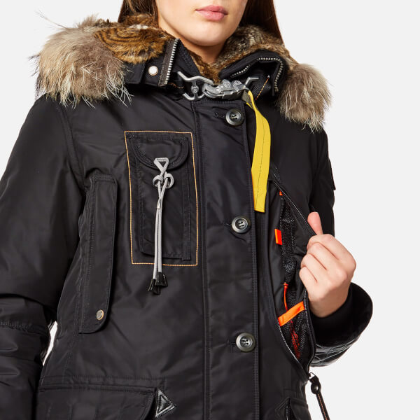 Parajumpers Women's Kodiak Masterpiece Coat - Black: Image 5