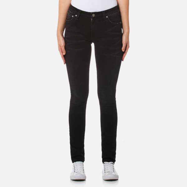 Nudie Jeans Women's Skinny Lin Jeans - Black Raven