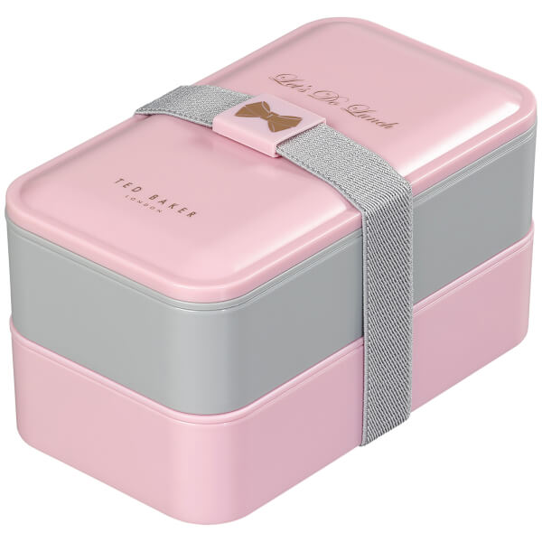 Ted Baker Lunch Stack - Pink/Grey