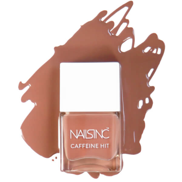 Nails Inc Chai Kiss Caffeine Hit Nail Varnish 14ml