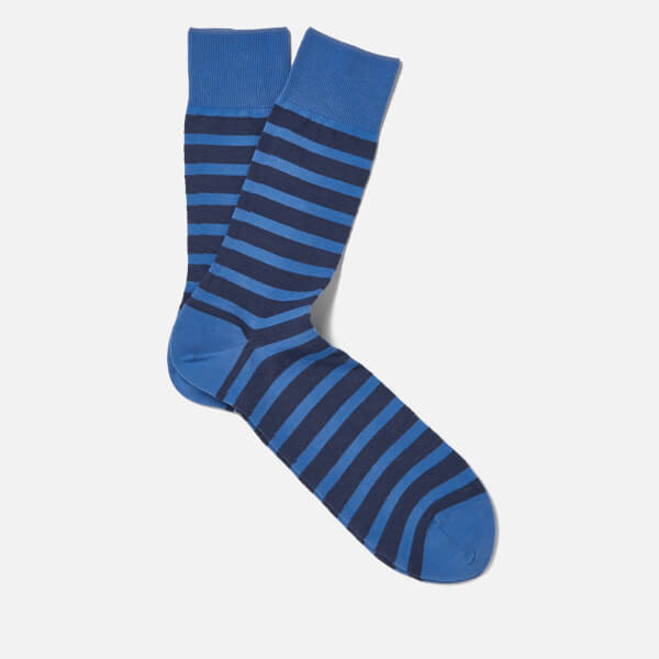 FALKE Men's Even Stripe Basic Socks - Sumac