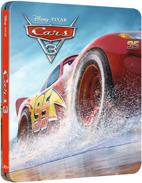 cars 3 3d includes 2d version zavvi exclusive limited edition steelbook blu ray zavvi. Black Bedroom Furniture Sets. Home Design Ideas
