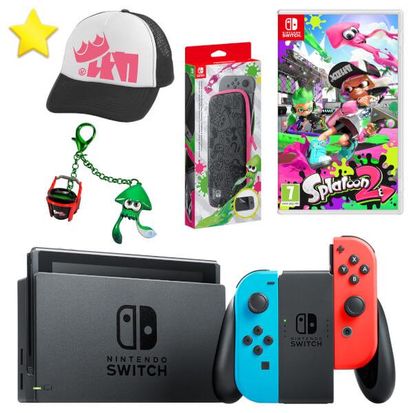 Nintendo Switch Squid Kid Pack