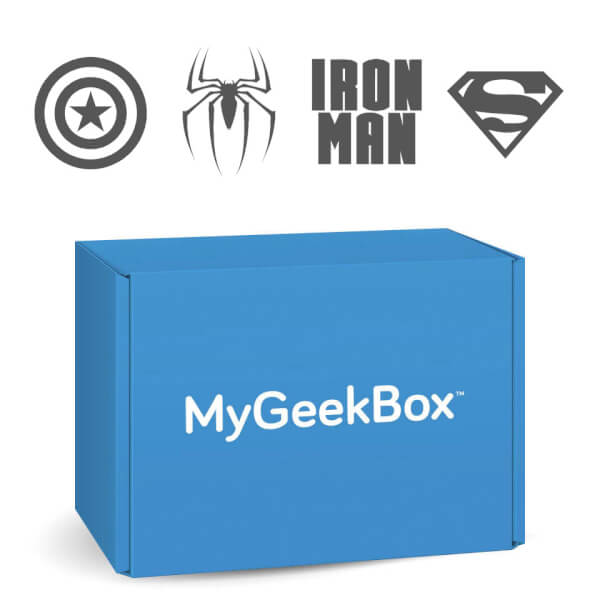 My Geek Box - July Mega Box - Superheroes