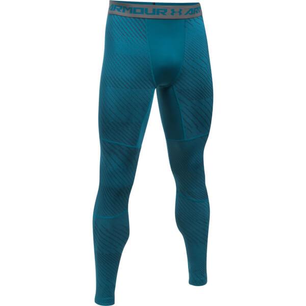 Under Armour Compression Pants Blue Under Armour Men's Str...