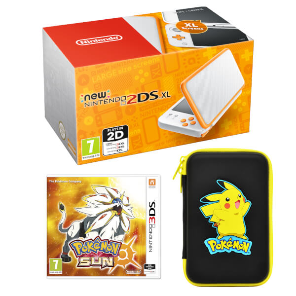 New Nintendo 2DS XL Pokémon Sun Pack