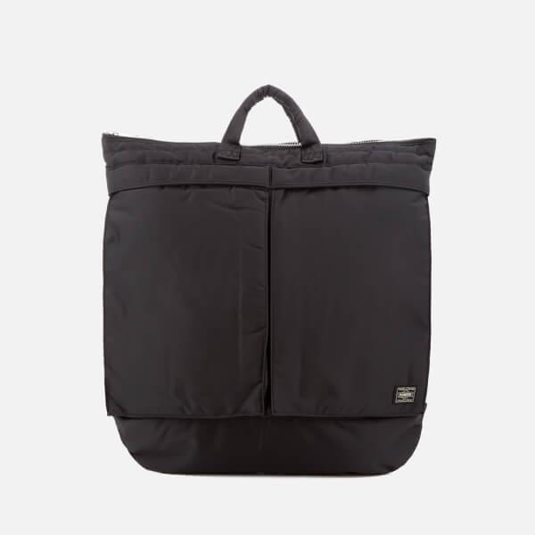 Porter-Yoshida & Co. Men's Tanker Helmet Bag - Black