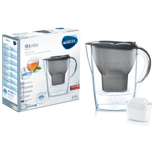 BRITA Maxtra+ Marella Cool Water Filter Jug - Graphite