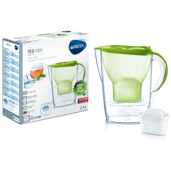 BRITA Maxtra+ Marella Cool Water Filter Jug (Limited Edition) - Lime