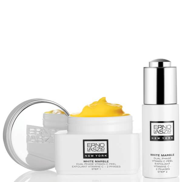 Erno Laszlo White Marble Dual Phase Vitamin C Peel Skinstore