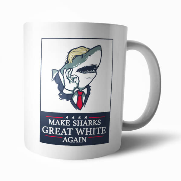 Tasse Make Sharks Great Again