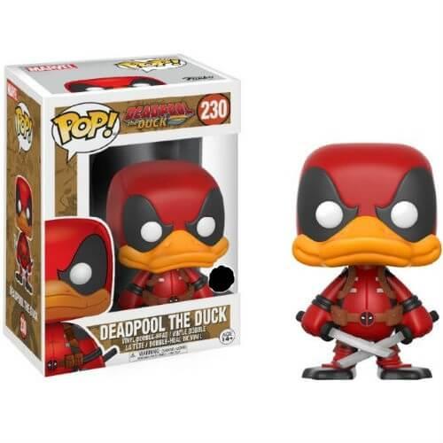 Deadpool The Duck Exc Pop Vinyl Figure My Geek Box