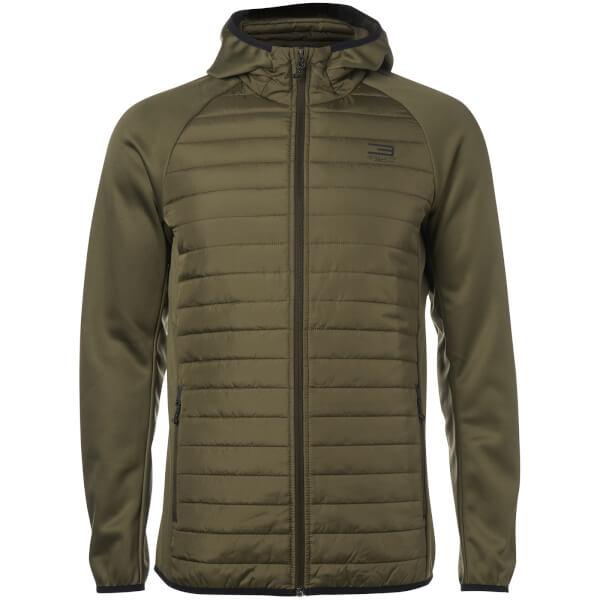 Jack & Jones Men's Core Multi Quilted Jacket - Olive